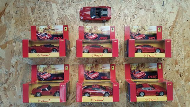 Samochodziki Ferrari