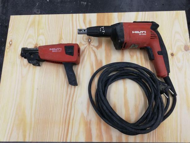 HILTI SD 5000 + SMD57 Wkętarka do Regipsów 230V