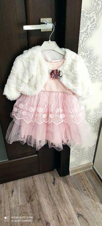 Платье на годик для маленькой принцессы