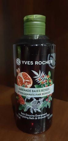 Żel pod prysznic Yves Rocher - Owoc Granatu & Czerwony Pieprz, 400ml