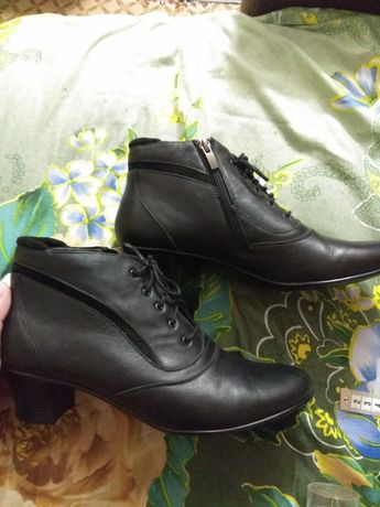 Обувь ботинки кожа