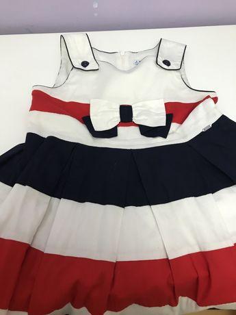 Vestido Mayoral estilo marinheiro 8 anos