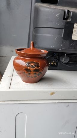 Горщик керамічний для печення запікання горшок для запекания