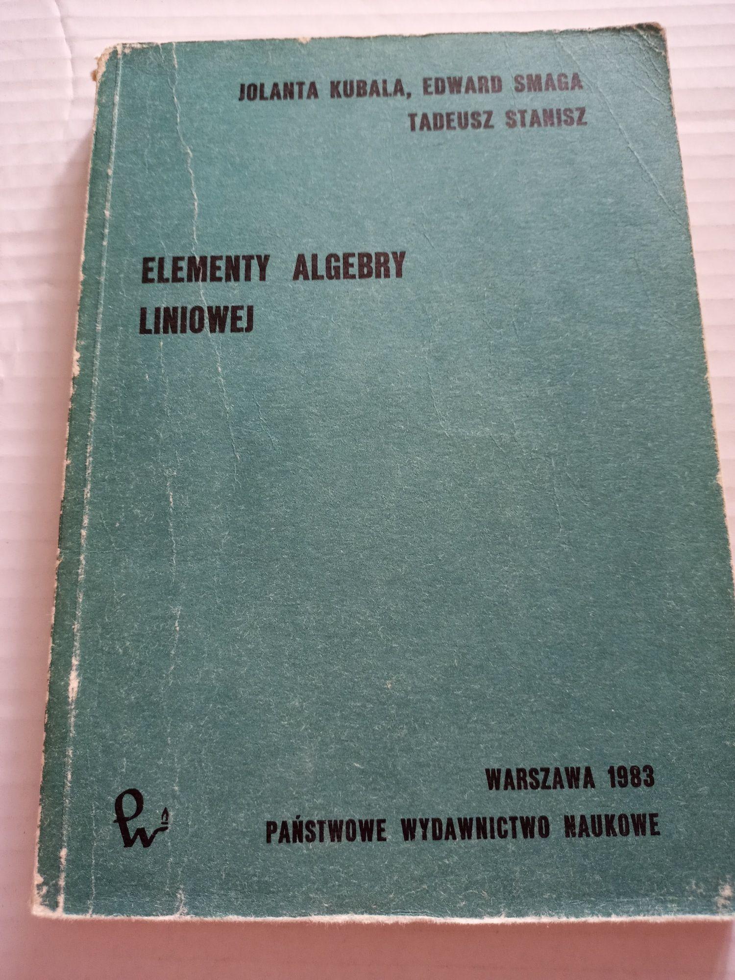 Elementy algebry liniowej