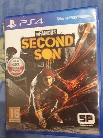 Second Son in Famous gra na PS4 na PlayStation 4