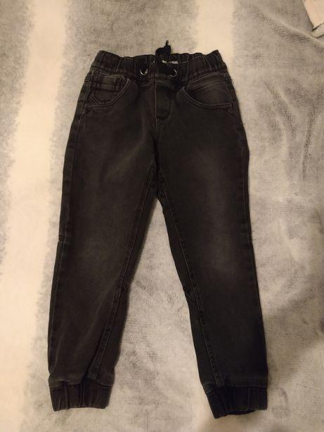 Spodnie dziecięce joggery jeans lupilu rozmiar 128 6-7 lat