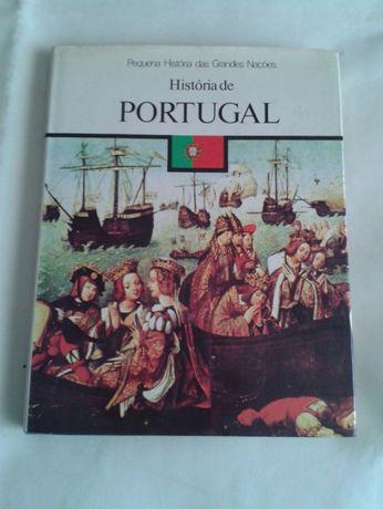 Livro Pequena história das grandes nações-PORTUGAL