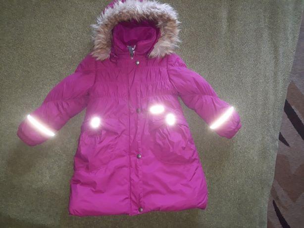Зимняя куртка, пальто, термо Lenne 104-110 см, 4-5 лет