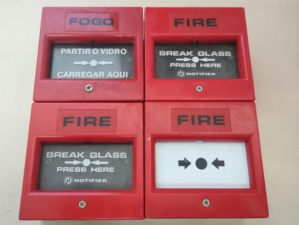 Botoneiras de Alarme Usadas