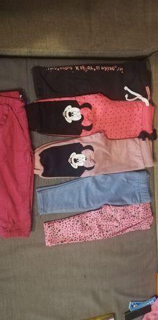 Spodnie dla dziewczynki 80/86cm