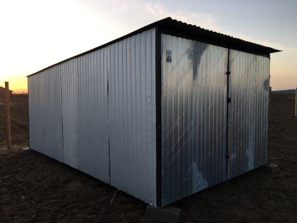Garaż Blaszany 3x5 II Gatunek SZYDŁOWIEC