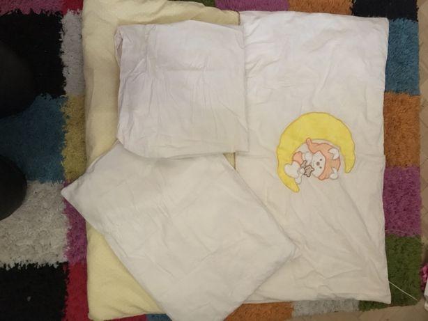 Детский комплект одеяло+подушка+белье