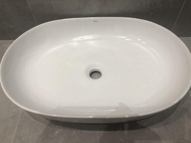 Umywalka nablatowa Rea Cleo 60 cm