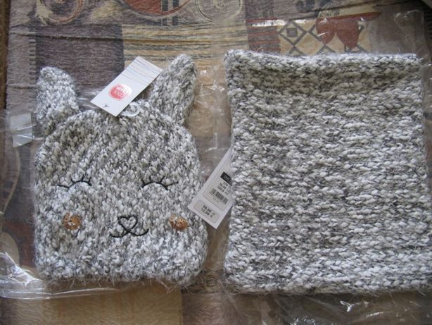 Комплект зимний шапка и хомут Cool Club