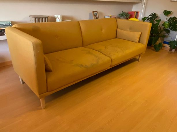 Sofa cama 3 lugares La Redoute