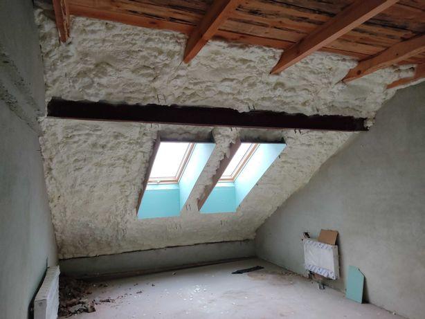 Піноізоляційне екологічне утеплення будинку (даху, фундаменту, стін)