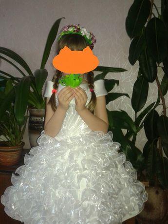 Платье детское пышное
