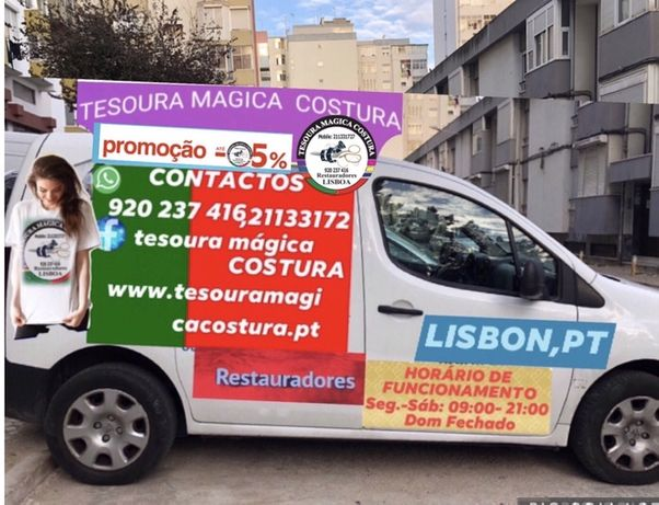 TESOURA MAGICA COSTURA                            Restauradores Metrop