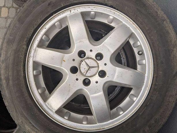 Літні шини + диски Mercedes ML + Nexen NFera RU-1 255/60 R17