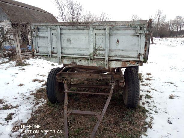 Прицеп тракторный двухосный