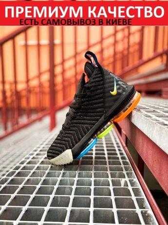 Кроссовки Nike LeBron 16 Black/Multicolor