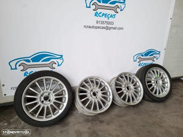 """Jantes Rover / MG 17"""" 4x100, 7j ET 45 - 1 pneu bom 205 45 17"""
