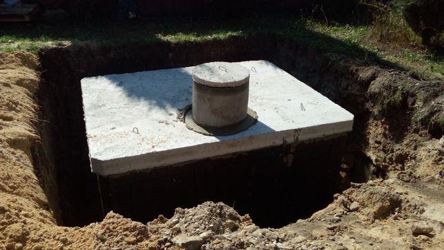 Zbiornik betonowy na gnojowicę, deszczówkę, szambo betonowe 10m3