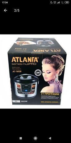 Мультиварка электрическая | пароварка на 12 программ Atlanfa.