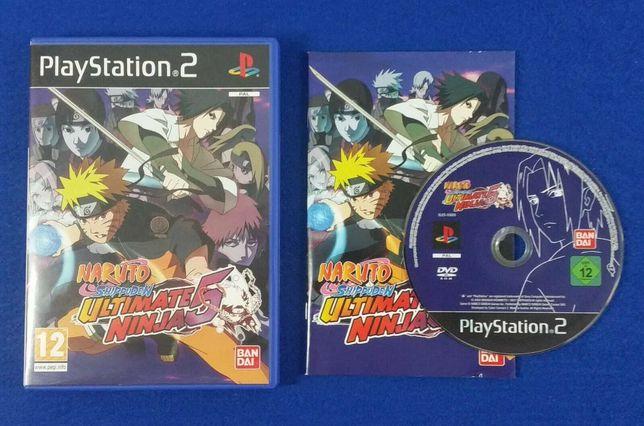 Naruto shippuden ultimate ninja 5 ps2 PlayStation 2