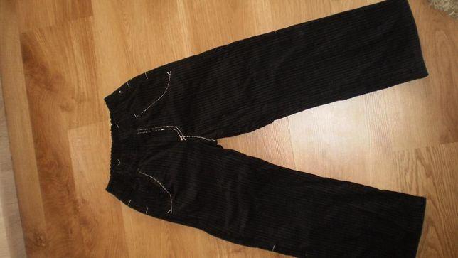 Spodnie sztruks 116