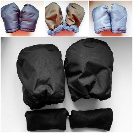 Перчатки на коляску, санки, рукавиці на коляску, сани
