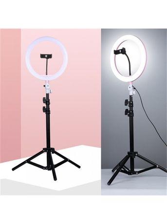 Кольцевая лампа 26 см +держатель для телефона +штатив 2 метра !