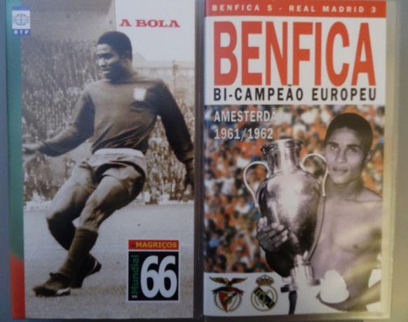 5 Cassetes de Eusébio - Chalana - Seleção Nacional 1966