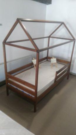 ліжко букове будиночок