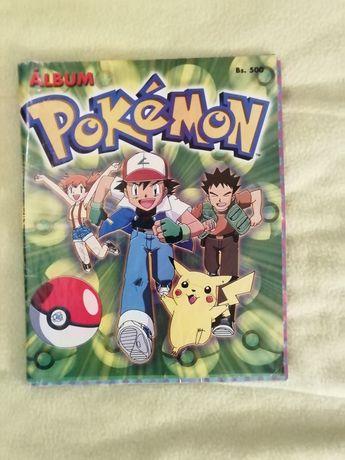 Album colecção e Pokémon