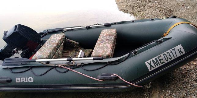 Продам моторную лодку bring Baltic  350