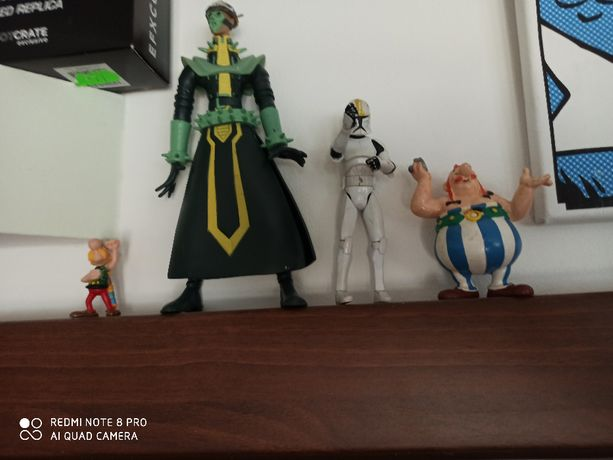 Figurki kolekcjonerskie Asterix Obelix Star Wars