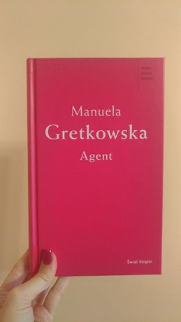 książka Agent Manuela Gretkowska