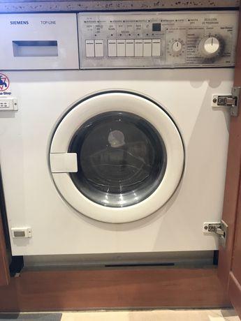 Maquina lavar roupa Siemens encastrar (para peças)