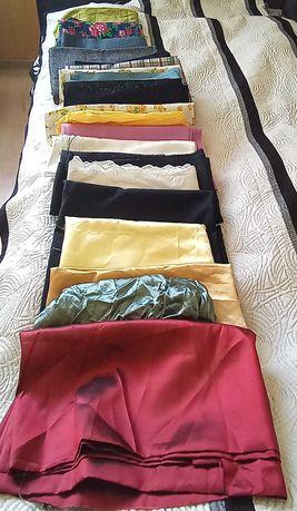 Tkaniny 20 sztuk kuponów duże kawałki