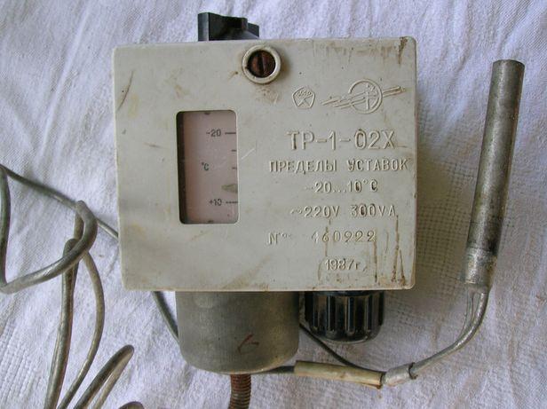 Датчик-реле температуры ТР-1-02Х ссср
