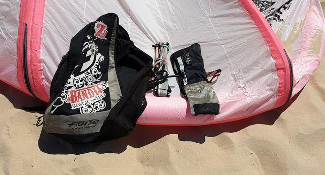 Kite F-One Bandit 7,5 M - Completo com Barra e saco
