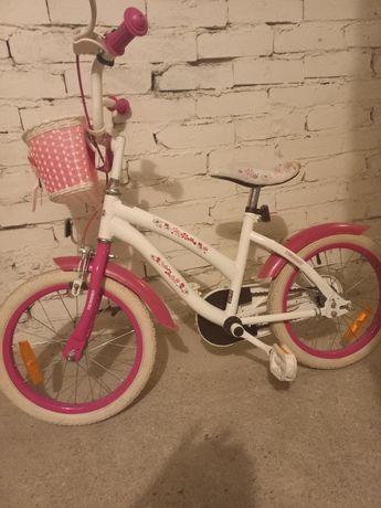 Rower dka dziewczynki koła 16