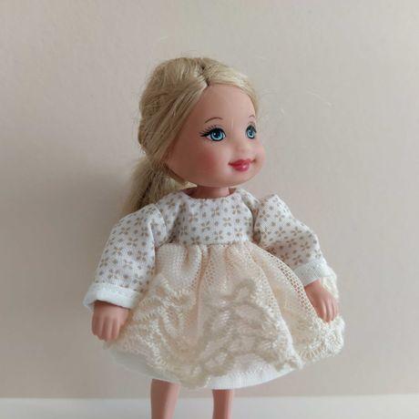 Vestido boneca miniatura