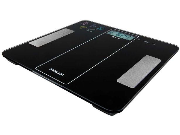 Весы напольные электронные Sencor SBS 8000BK
