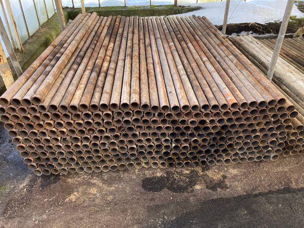 Słupki ogrodzeniowe,metalowe fi.60mm , ścianka 3,5mm