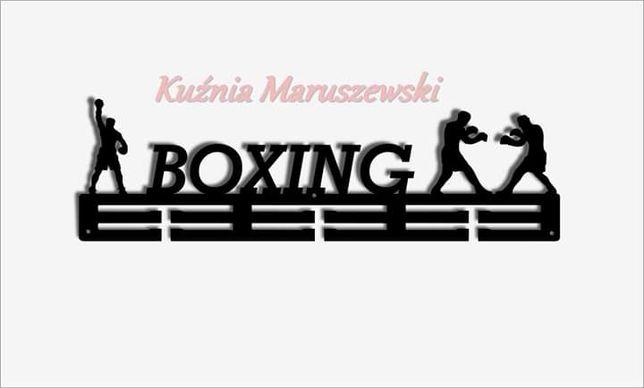 Wieszak na Medale dla Sportowców. Boxing !