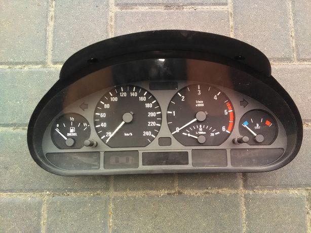 BMW E46 zegary licznik europa diesel