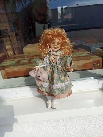 Lalka kolekcjonerska porcelanowa 12