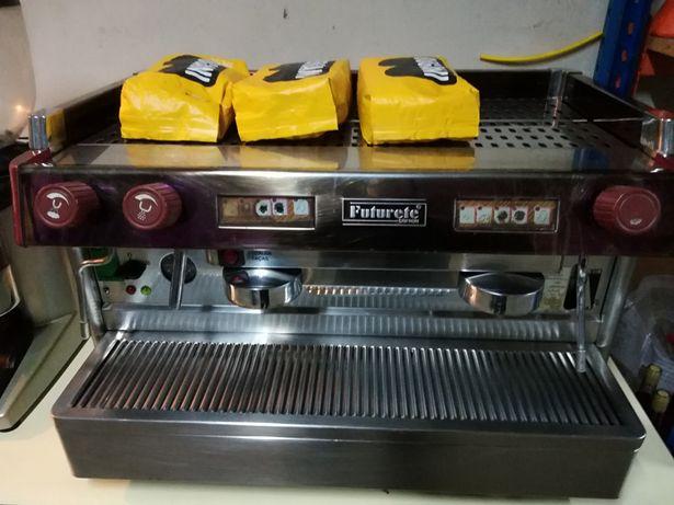 Máquina café, moinho e máquina de lavar